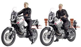 Wilbers ülésmagasság csökkentő kit Yamaha XT660 Tenere